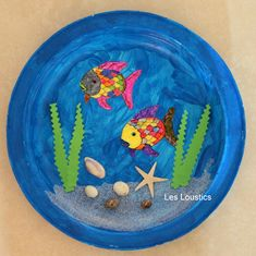 Misadventures of a YA Librarian: Porthole Fish Craft | Easy Craft ...