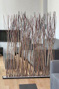 Paravent en tilleul par l'Atelier du Bois Flotté - Réf. 11010064 - mobile