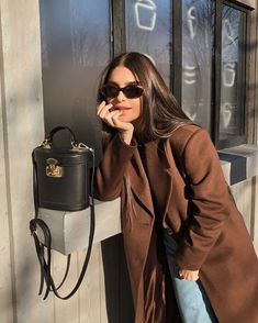 Nadire Atas on City Day Looks Style by Three Looks Street Style, Looks Style, Look Fashion, Fashion Outfits, Womens Fashion, Fashion Trends, Fall Fashion, 90s Fashion, Feminine Fashion