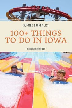 Road trips, summer fun, festivals, travel destinations and more. your ultimate summer bucket list. Bucket List 100, Summer Bucket Lists, Best Weekend Trips, 100 Things To Do, Free Activities, Road Trips, Iowa, Summer Fun, Festivals