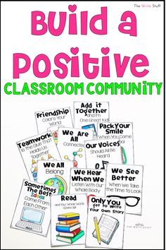 Positive and motivating posters for your elementary classroom. #classroomdecor #classroomorganization