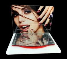 Nail varnish display stand, perspex nail polish stand