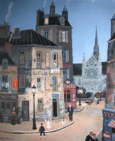 Michel Delacroix : Rue De La Columbe