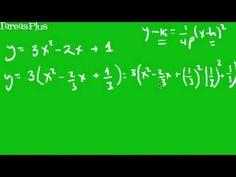 ecuación de la parábola parte 3