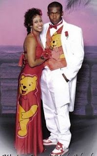 awkward prom photos...in about 10 years he'll wanna whack her on the head for this...and himself, too!!! Lol