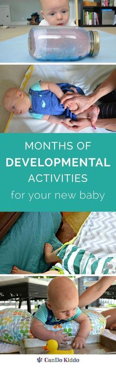 Stop scouring Pinterest and find 45 creative play ideas for infants in one book/eBook PLUS the developmental benefits for each activity. Written by a pediatric OT. CanDoKiddo.com