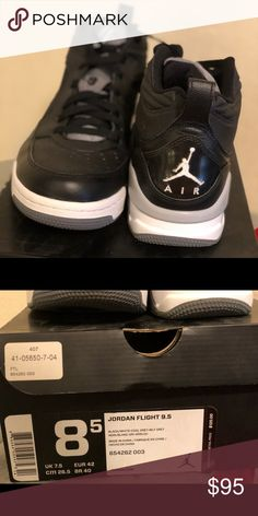 2c173b75924ead Jordan flight 9.5 Jordan flight 9.5 size 8.5 worn once other then that kept  in box