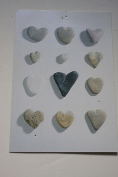 cheesy but kind of nice - stone hearts