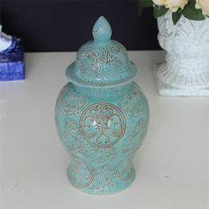 hand painted antique porcelain jar.jpg