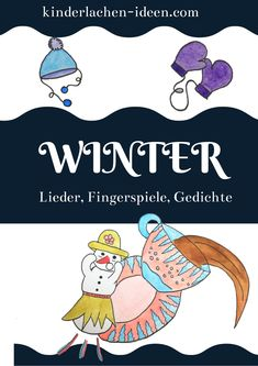 Diy For Kids, Winter, Kindergarten Games, Kids Day Out, Funny Games For Kids, Poems For Children, Children Laughing