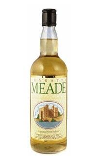 Toast with Bunratty Meade - Honey Meade. Bunratty Meade is a honey-based wine produced from an ancient Irish recipe. In the old days, it was served at Irish weddings because it was thought to promote virility.