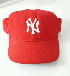 4e3aa058013 New Era Men s MLB Cap Size 7-1 2 Red White 59 50 New York Yankees Fitted Hat   NewEra  BaseballCap