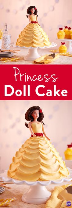 How to Make a Princess Doll Cake - Little girls of all ages are sure to love this Belle-Inspired Doll Cake. Use the classic Wonder Mold Pan to create a princess doll cake that's perfect for celebrating your little one's birthday or any princess-themed party! You can even further customize this cake by selecting a doll pick that looks just like your little princess!