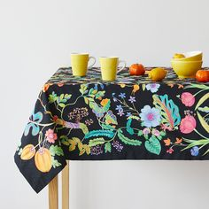 Multicoloured Leaves Tablecloth   Floral Collection   TABLEWARE | Zara Home  United States Of America