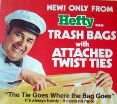 Jonathan Winters For Hefty Trash Bags