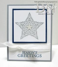 Unfrogettable Stamping | Week 8 Bright & Beautiful quick and easy Christmas card http://www.unfrogettablestamping.com/my_weblog/2014/11/week-8-of-my-twelve-weeks-of-quick-easy-christmas-card-ideas.html
