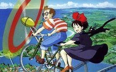 Anime Masterpieces : Hayao Miyazaki  and Studio Ghibli Anime Movie Wallpapers  - Miyazaki Masterpieces : Kiki's Delivery Service  Wallpaper Images 8