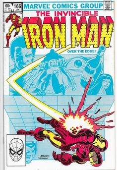 Iron Man #166 Bronze Age Marvel Comics 1st Appearance of Obadiah Stane VF
