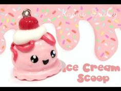 Ice Cream Scoop Tutorial in Polymer Clay or Fimo