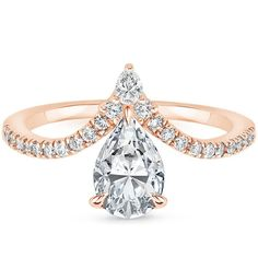 Top Twenty Engagement Rings - NOUVEAU DIAMOND RING (1/4 CT. TW.)