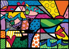 Inspired by Romero Britto    Created in Photoshop CS4