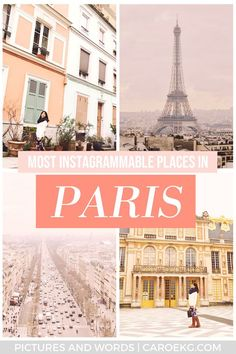 Want to know where all the most Instagrammable places in Paris are? The city is full of them, but this post will help you find the best of the best places to take pictures in Paris. This guide will help you snap all those perfect photos at the best Instag