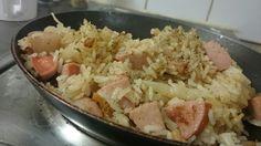 Chou Chou Risotto   #risotto #rice #vinegar #sausage #cabbage