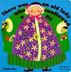 There Was an Old Lady Who Swallowed a Fly (Classic Board Books with Holes) my book looked different