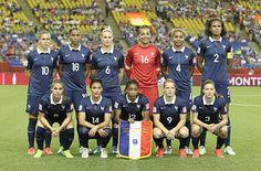 Les 23 joueuses de l'équipe de France féminine de football FRAWNT - WWC 2015