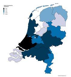 Dutch Provinces By Population