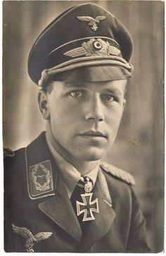 Major Helmut Paul Emil Wick (5 August 1915 - 28 November 1940). 56 aerial victories. German Luftwaffe ace and the fourth recipient of the Knight's Cross of the Iron Cross with Oak Leaves (Ritterkreuz des Eisernen Kreuzes mit Eichenlaub), which was awarded by the Third Reich to recognise extreme bravery in battle or successful military leadership. It was Germany's highest military decoration at the time of its presentation to Helmut Wick.