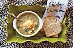 posh pink giraffe: Chicken Cannellini Soup - the recipe box