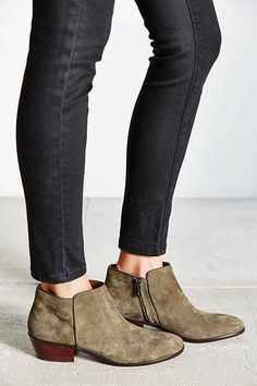 Sam Edelman Petty Suede Ankle Boot - Urban Outfitters