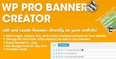WP PRO Banner Creator