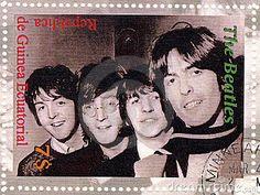 Stamp with Beatles by Konstantin32, via Dreamstime