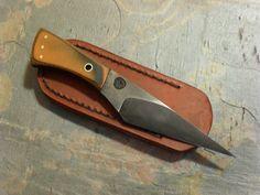 Cool Knives, Knives And Swords, Forging Knives, Knife Template, Neck Knife, Knife Art, Cold Steel, Knife Making, Blacksmithing