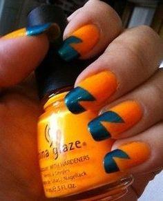 DIY halloween nails: DIY Halloween nail art : Halloween Nail Design