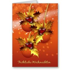 43 best german christmas cards images on pinterest german froehliche weihnachten stylish german christmas card m4hsunfo