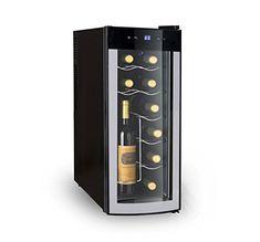 iGloo Wine Cooler with Curved Glass Door for sale online Wine Refrigerator, Wine Fridge, Best Wine Coolers, Wine Purse, Wine Chiller, Wine Cellars, Curved Glass, Wine Cabinets, In Vino Veritas