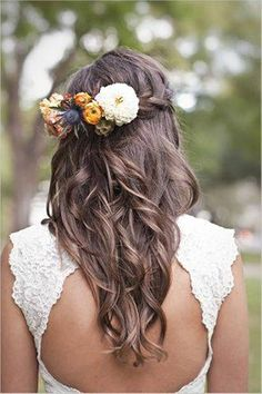 long. curly. flowers. love.