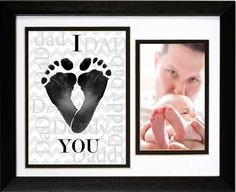 An adorable gift for a new Dad that shows him he is loved!A thoughtful gift for a dad to be for baby shower, birthday or one of our favorite gift ideas for Father's Day. Browse our great selection of gifts for Dad now! First Fathers Day Gifts, Fathers Day Crafts, Daddy Gifts, Gifts For Dad, Baby Crafts, Fun Crafts, Easter Crafts, Daddy I Love You, Daddy Birthday