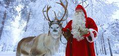 Santa Claus Reindeer: Reindeer rides in Santa Claus Village in Rovaniemi in Lapland – Reindeer safaris at Arctic Circle in Finnish Lapland Santa Claus Village, Santa's Village, Safari, New Zealand Lakes, Queenstown New Zealand, Lake Wakatipu, Graphic Design Tools, Visit Santa, Arctic Circle