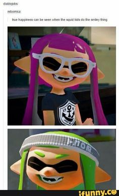 Splatoon. Protect this smile.