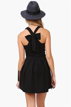 Goody Two Shoes Dress in Black