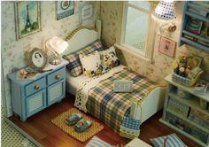 dollhous 1:12 mini house diy Manual small house gift Children begin toys…