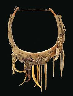haida shaman's necklace     Saying it is jewelry is an understatement...if you know what I mean.