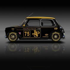 The post Classic Racing Legends, Mini JPS ? & cool cars appeared first on Cars. Mini Cooper Classic, Classic Mini, Classic Cars, Auto Retro, Retro Cars, Vintage Cars, Carros Suv, Austin Mini, Mini Morris