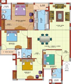 Apartment Floor Plans With Dimensions floor plans of 3bhk, 4bhk and 5bhk apartments in purvanchal royal