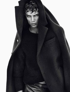 Authur Gosse / Sølve Sundsbø / Models / Vogue Hommes International / FW 2013