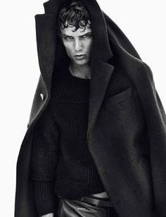 Models by Sølve Sundsbø for Vogue Hommes International